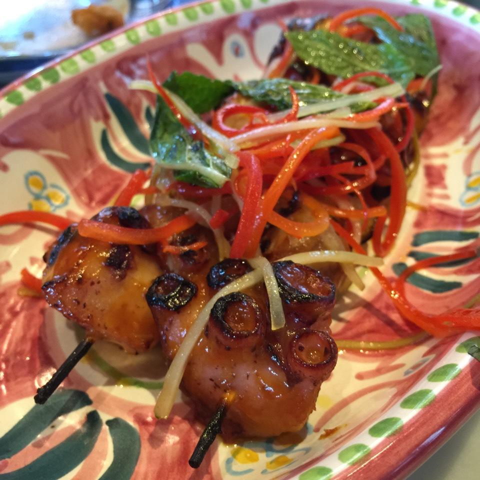 Octopus Spiedini at Santina on #foodmento http://foodmento.com/place/6898