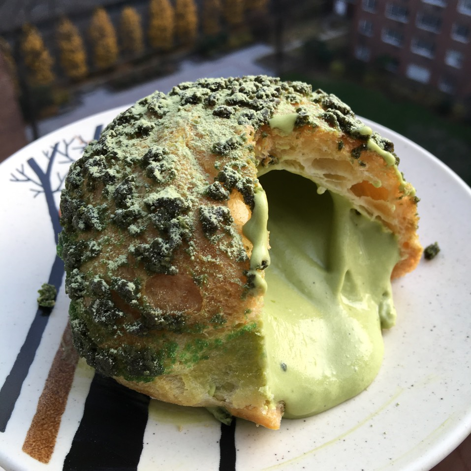 Matcha Cream Puff at Bibble & Sip on #foodmento http://foodmento.com/place/7100