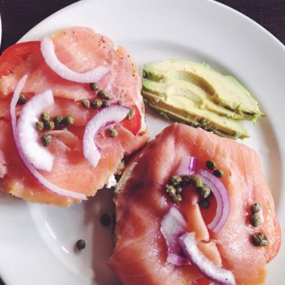 Smoked Salmon Bagel at Nook on #foodmento http://foodmento.com/place/7133