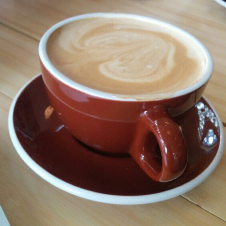 Cappuccino at Duboce Park Cafe on #foodmento http://foodmento.com/place/7135