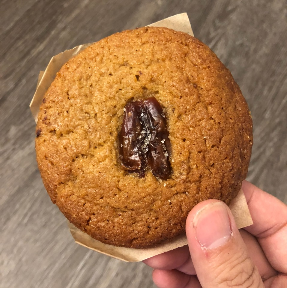 Miso Date Cookie at Gjusta on #foodmento http://foodmento.com/place/7159