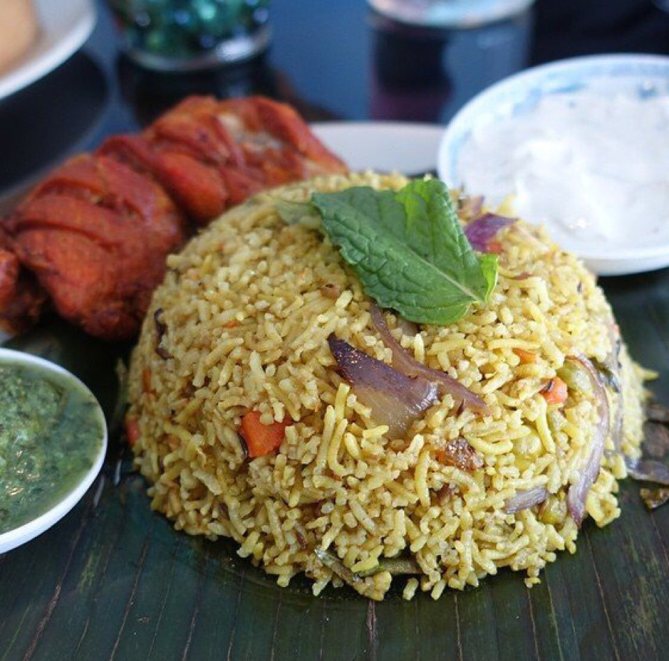 Kothu roti - fried rice made with roti from Spicy Lanka (CLOSED) on #foodmento http://foodmento.com/dish/28425