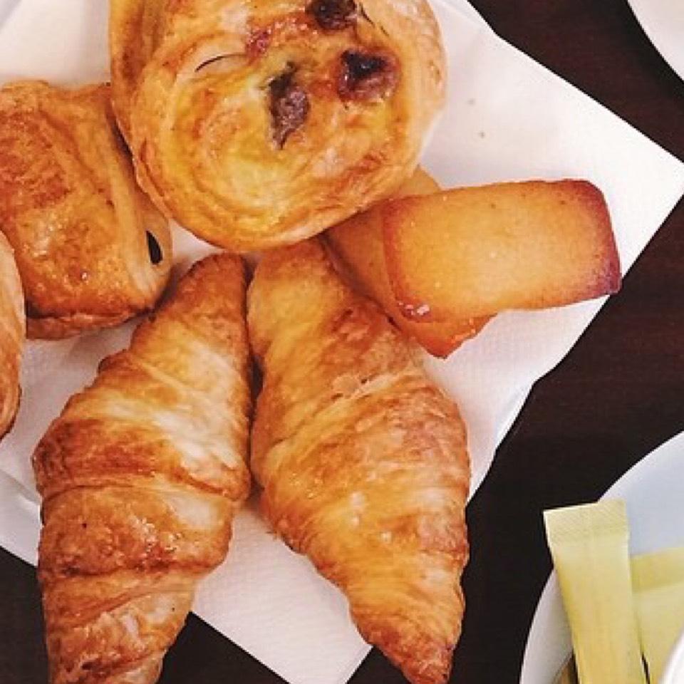 Croissants at Les Deux Magots on #foodmento http://foodmento.com/place/7330
