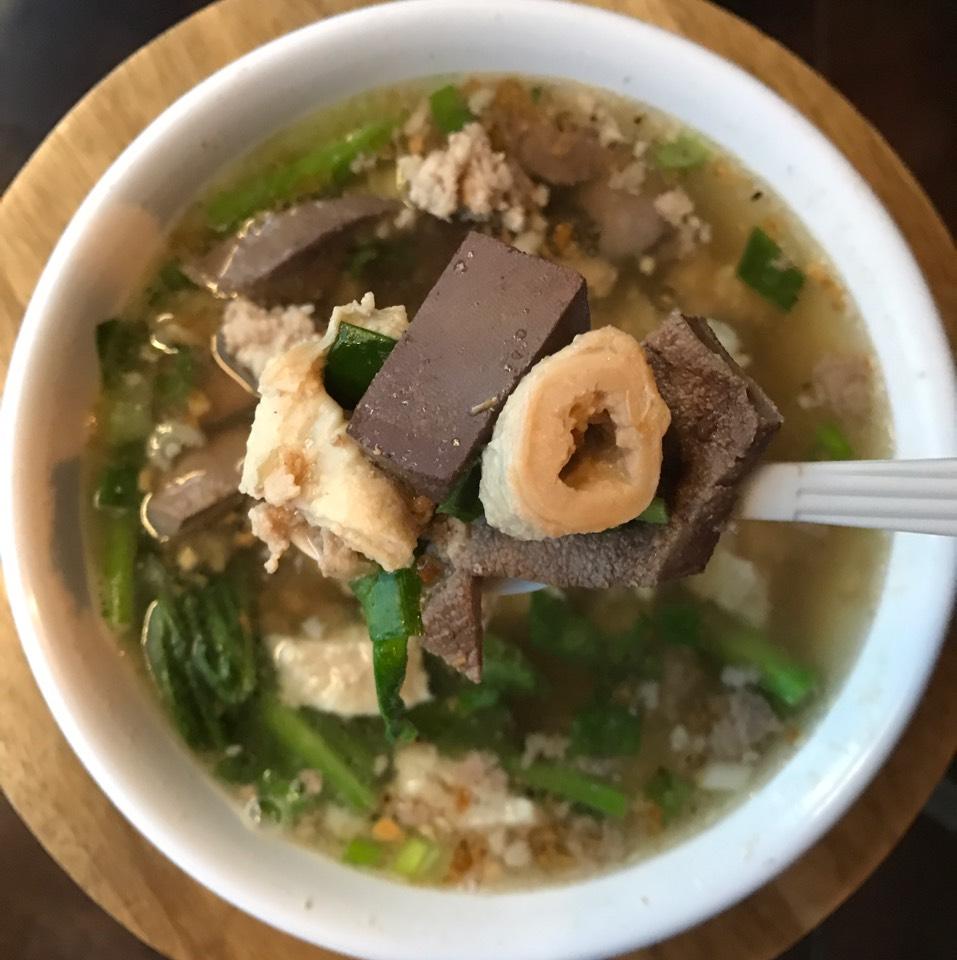 Pork Intestine Soup at Tea Cup Cafe on #foodmento http://foodmento.com/place/8138