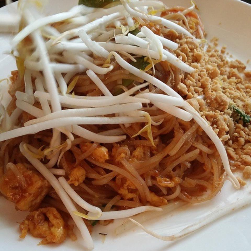 Pad Thai With Shrimp At Land Thai Kitchen On Foodmento