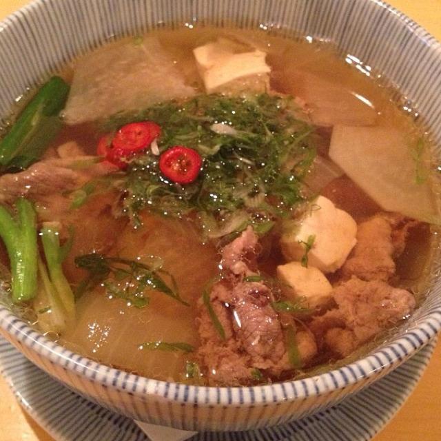Daikon Beef Brisket Soup at Danji on #foodmento http://foodmento.com/place/836