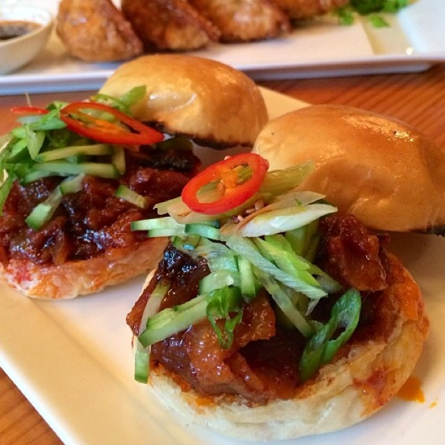 Spicy Pork Belly Sliders at Danji on #foodmento http://foodmento.com/place/836