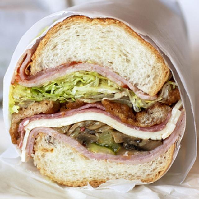 Nicky Special Hero Sandwich Ham Capocollo Salami Fried