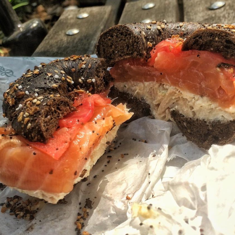 Bagel With Whitefish & Smoked Salmon at Sadelle's on #foodmento http://foodmento.com/place/8545