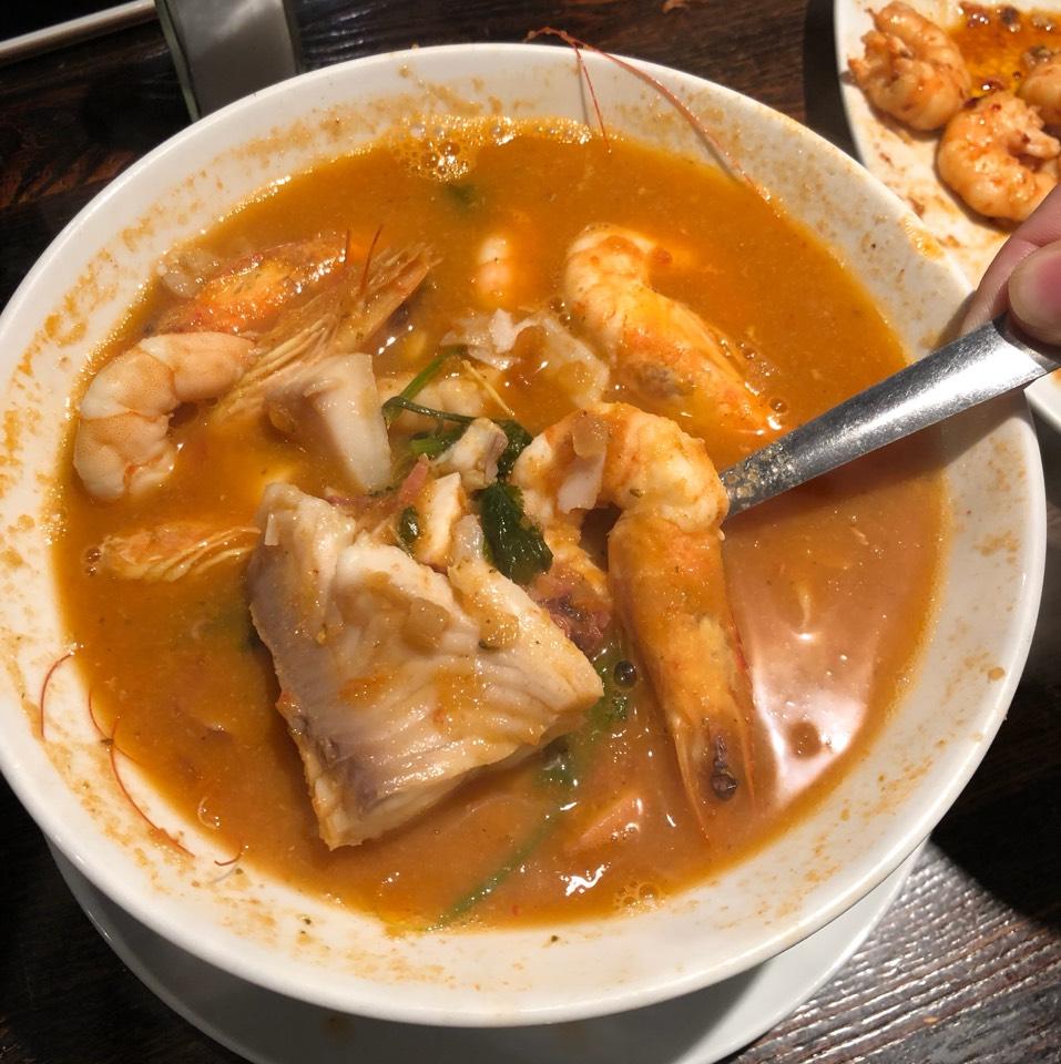 Sopa De Camaron Mixto (Seafood Soup) at Coni'seafood on #foodmento http://foodmento.com/place/8574