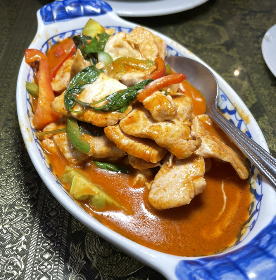 Panang Chicken Curry at Jitlada Thai Restaurant on #foodmento http://foodmento.com/place/8591