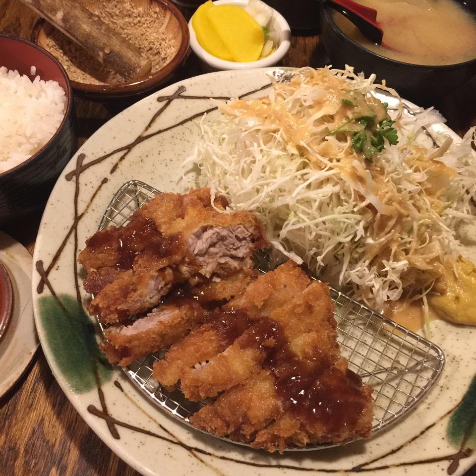 Pork Katsu Lunch - Lunch Special at Katsu-Hama on #foodmento http://foodmento.com/place/887