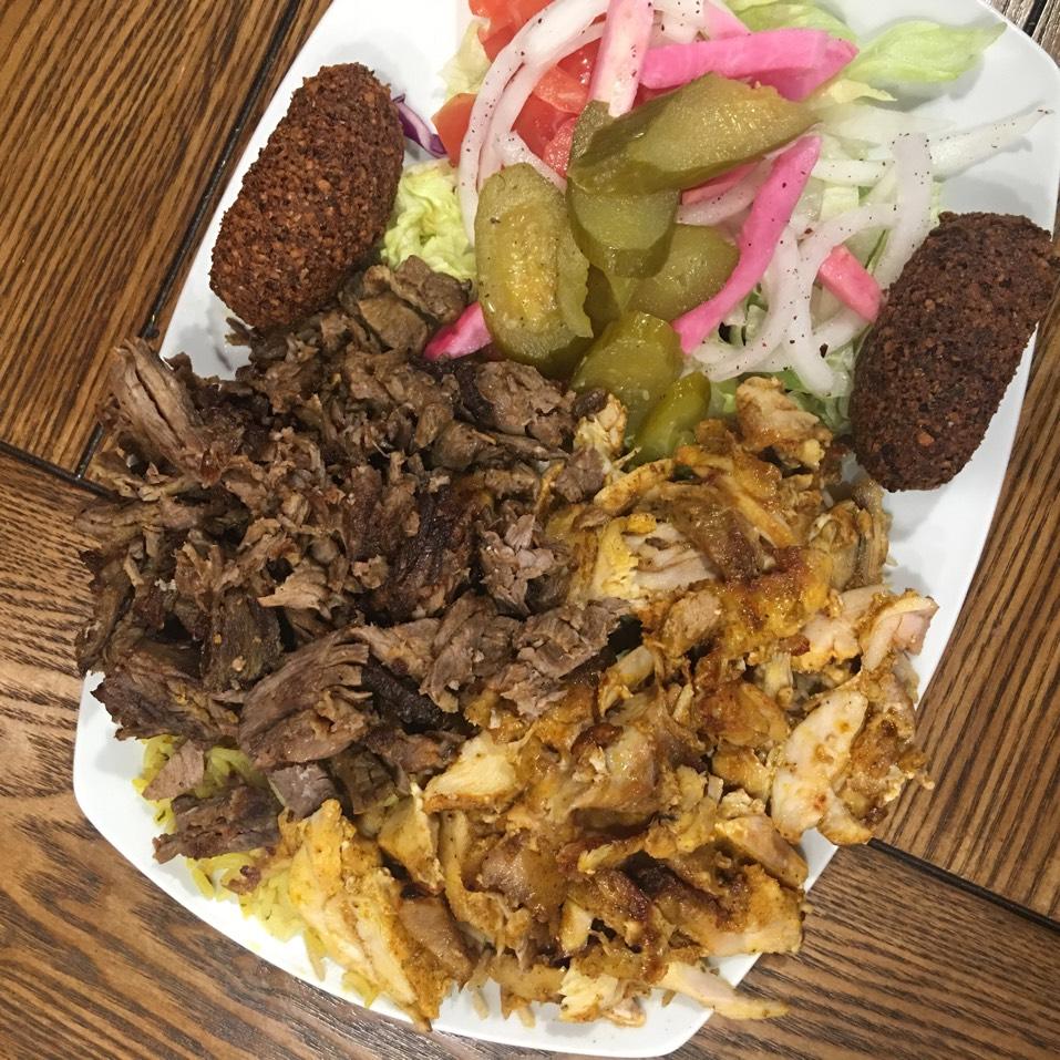 Mixed Shawarma Platter at King Of Falafel & Shawarma on #foodmento http://foodmento.com/place/890
