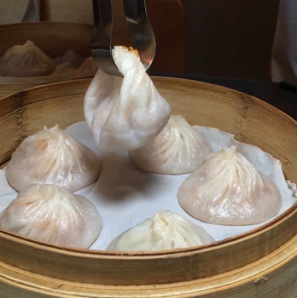 Crab Meat Xiao Long Bao (Soup Dumplings) at Kung Fu Xiao Long Bao on #foodmento http://foodmento.com/place/9774