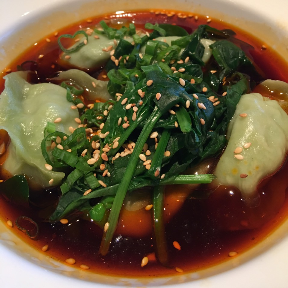 Veggie Dumplings (Spicy & Sour Soup) at Kung Fu Xiao Long Bao on #foodmento http://foodmento.com/place/9774