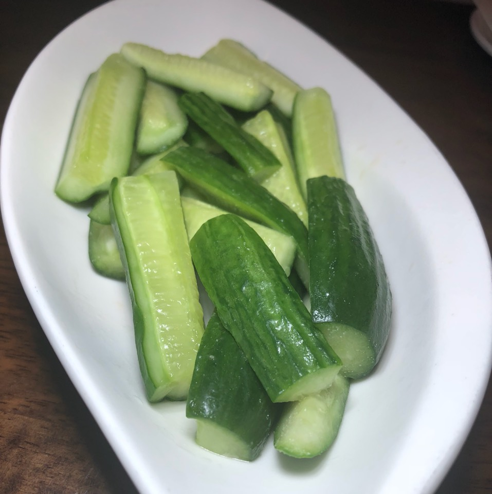 Cucumber Garlic at Kung Fu Xiao Long Bao on #foodmento http://foodmento.com/place/9774