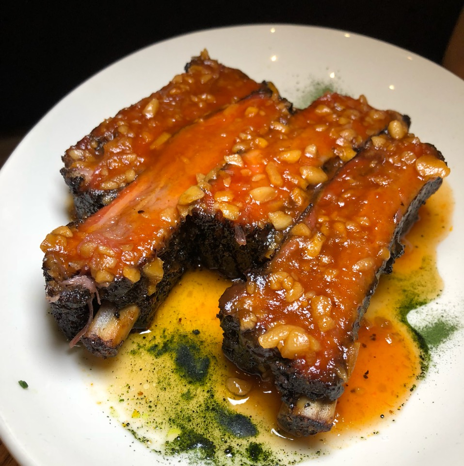 BBQ Pork Ribs at Momofuku Nishi on #foodmento http://foodmento.com/place/9809