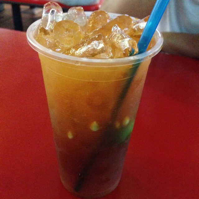 Teh O Limau Ice (Lime Iced Tea) @ Taj Mahal Drinks #15 at Adam Road Food Centre on #foodmento http://foodmento.com/place/1235
