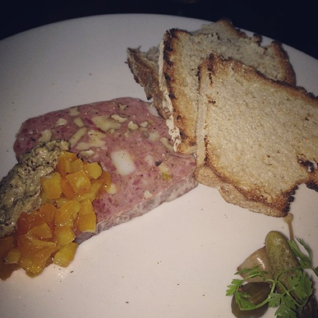 Duck & Walnut Country Pate at Waterloo & City on #foodmento http://foodmento.com/place/678
