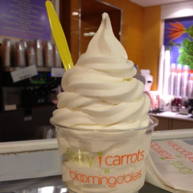 Plain Frozen Yogurt at Forty Carrots Restaurant on #foodmento http://foodmento.com/place/1262
