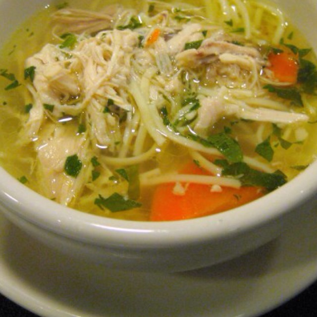 Chicken Noodle Soup at Veselka on #foodmento http://foodmento.com/place/977