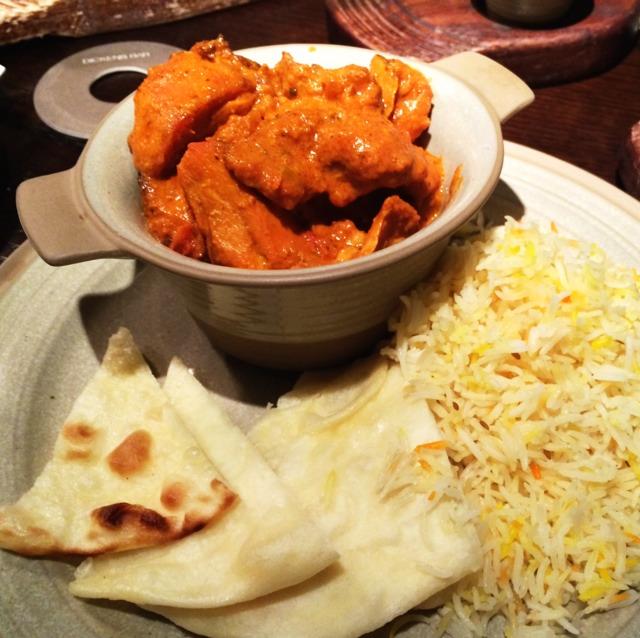 Chicken Tikka Masala  at Dickens Bar at The Excelsior, Hong Kong on #foodmento http://foodmento.com/place/4330