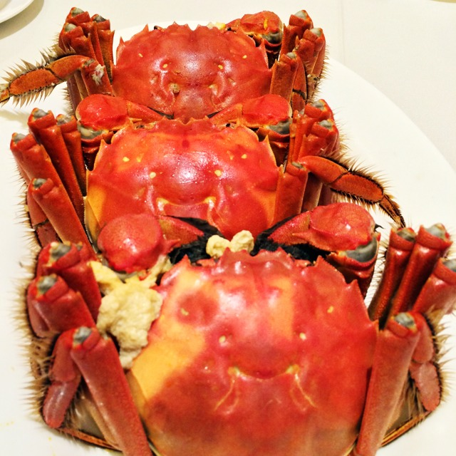 Hairy Crab at Liu Yuan Pavilion 留園雅敘 on #foodmento http://foodmento.com/place/5276