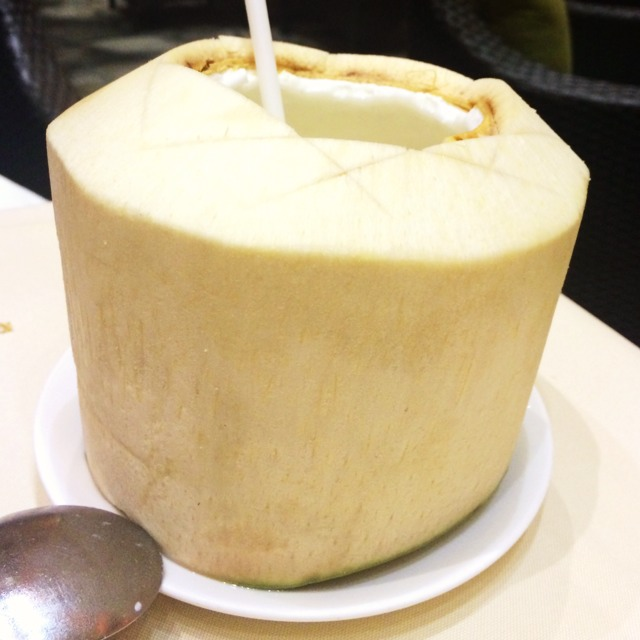 Fresh Coconut Water  at Le Soleil on #foodmento http://foodmento.com/place/5937