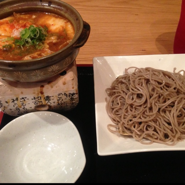 Warm Pork Kimchee Soba at Cocoron on #foodmento http://foodmento.com/place/2910