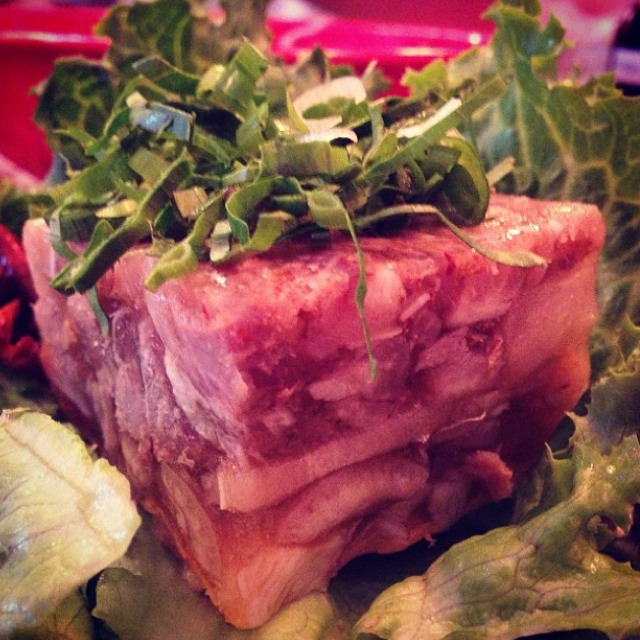 Pig Trotter Terrine at Pok Pok NY (CLOSED) on #foodmento http://foodmento.com/place/3173