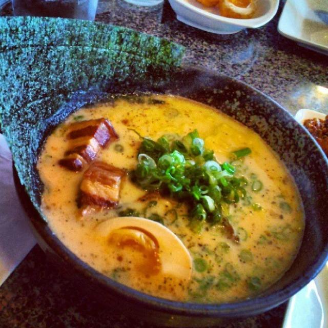 Spicy Miso Tonkotsu Ramen from Izakaya Sozai on #foodmento http://foodmento.com/dish/2992