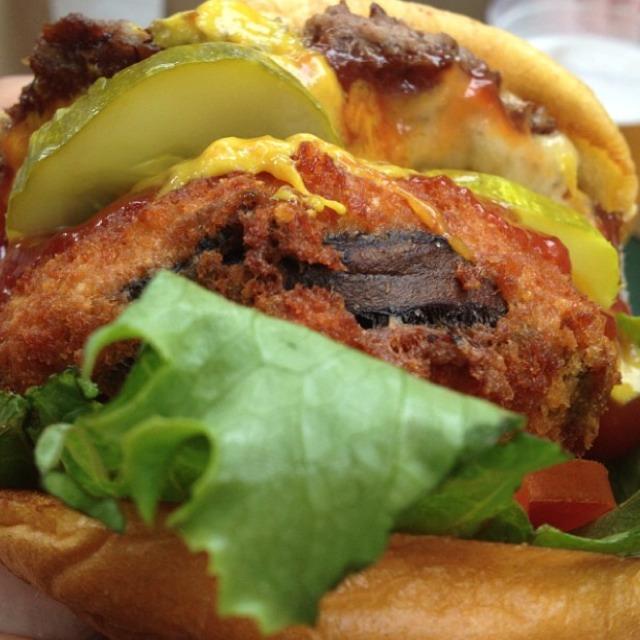 Shack Stack Burger at Shake Shack on #foodmento http://foodmento.com/place/959