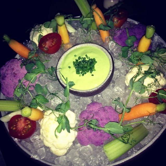 Vegetable With Chive Cream at The NoMad Restaurant on #foodmento http://foodmento.com/place/971