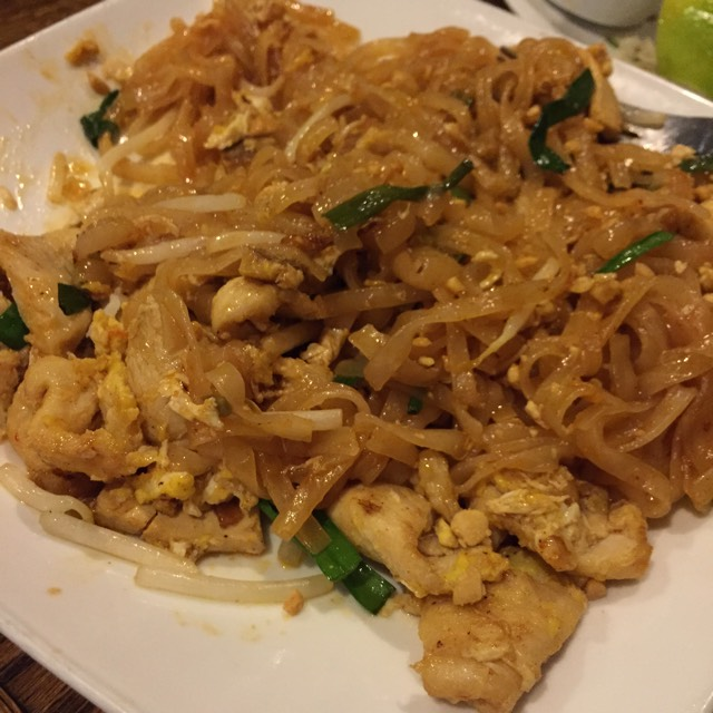 Pad Thai - Noodles‎ at SriPraPhai Thai Restaurant on #foodmento http://foodmento.com/place/383