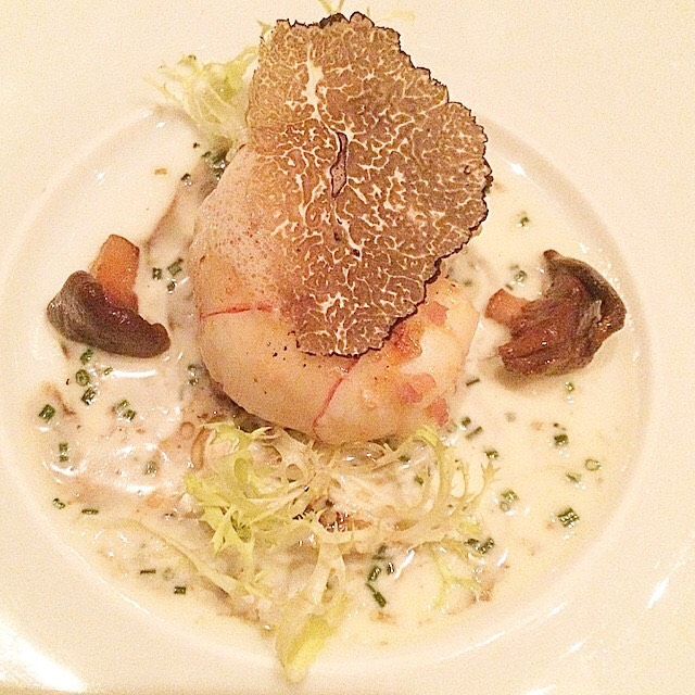 Langoustine, Truffle, Chanterelle at Le Bernardin on #foodmento http://foodmento.com/place/1246