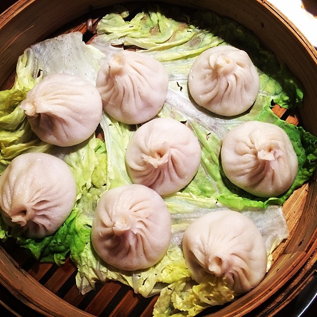 Xiao Long Bao (Soup Dumplings) at Shanghai Dumpling (formerly Shanghai Café Deluxe) on #foodmento http://foodmento.com/place/1308
