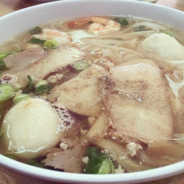 Pork, Shrimp, Fish all Noodle Soup at Bo Ky Restaurant on #foodmento http://foodmento.com/place/2946