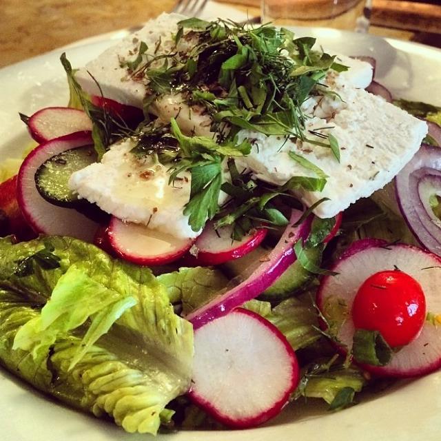 Greek Salad at Cafe Mogador on #foodmento http://foodmento.com/place/3092