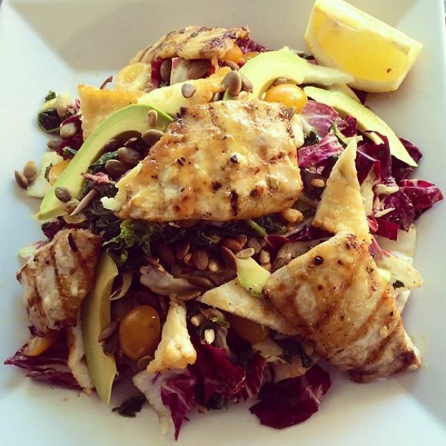 Honey Mustard Glazed Swordfish Salad at Westville East on #foodmento http://foodmento.com/place/3330