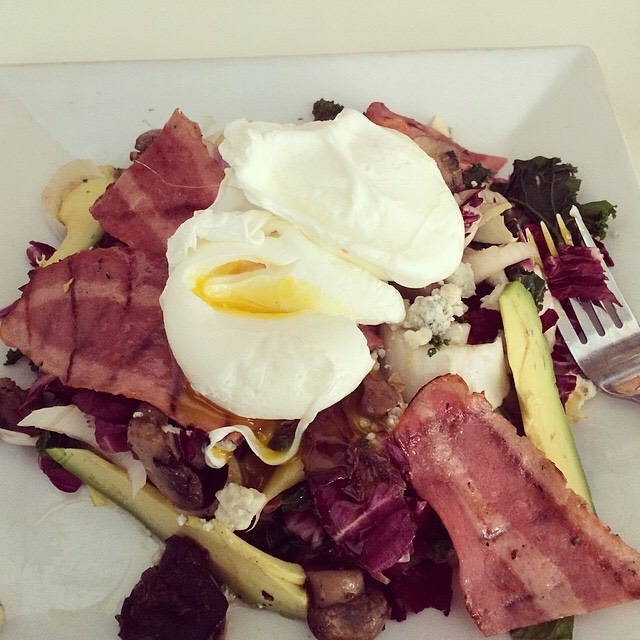 Romain, Endive, Radicchio Salad, Poached Eggs, Turkey Bacon... at Westville East on #foodmento http://foodmento.com/place/3330