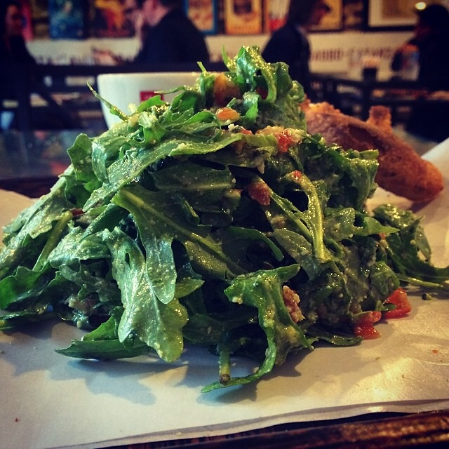 Arugula Salad at Gaia Italian Cafe on #foodmento http://foodmento.com/place/3654