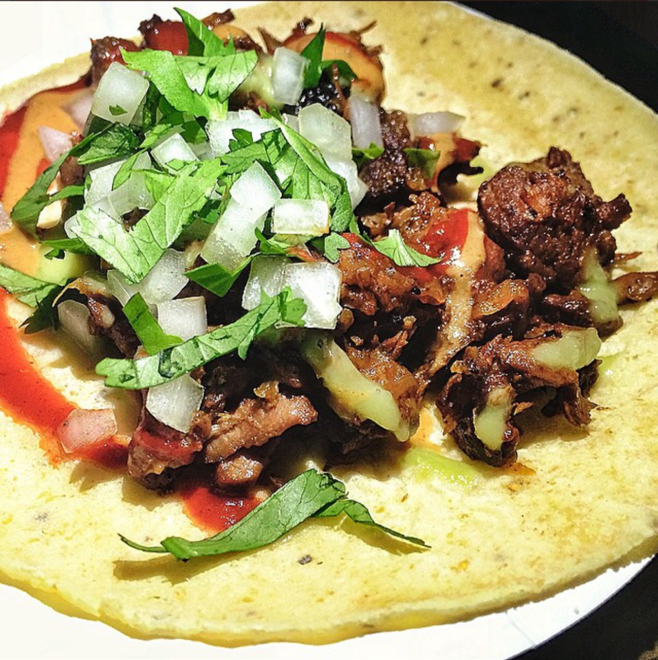 Beef, Caramelized Onions Taco Guisado at Empellón Al Pastor on #foodmento http://foodmento.com/place/5068
