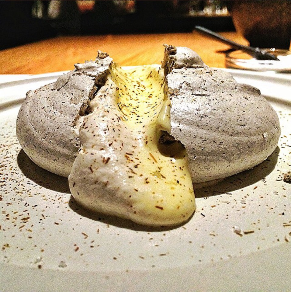 Husk Meringue, Corn Mousse. at Cosme on #foodmento http://foodmento.com/place/5070