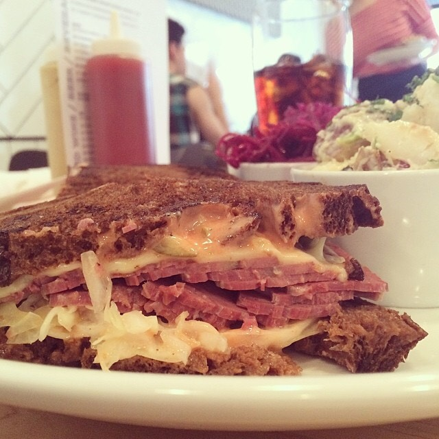 Corned Beef Reuben Sandwich at Mile End Delicatessen (CLOSED) on #foodmento http://foodmento.com/place/912