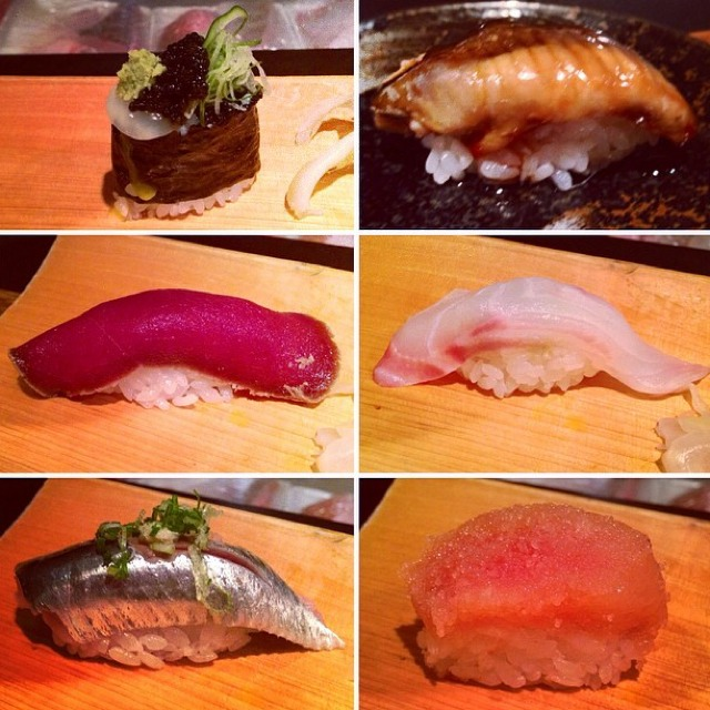 Omakase at Ushiwakamaru on #foodmento http://foodmento.com/place/1291