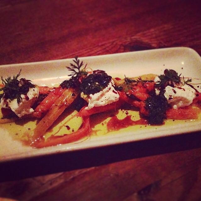 Roasted Carrots, Orange, Sesame, Yogurt... at Gjelina on #foodmento http://foodmento.com/place/2739