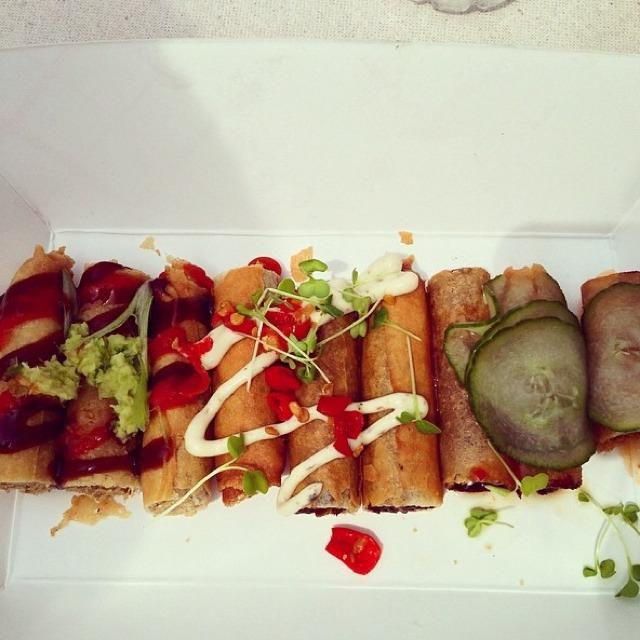 Lumpia Sampler @ Lumpia Shack on #foodmento http://foodmento.com/dish/14458
