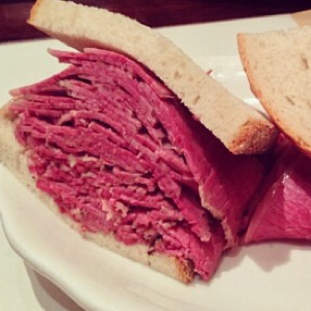 Hot Pastrami Sandwich at 2nd