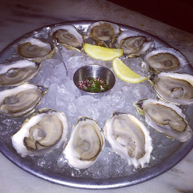 Chilled Island Creek Oysters ($1 Special) at Maysville on #foodmento http://foodmento.com/place/3539
