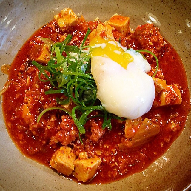 Spicy Tofu & Minced Pork Ramen at Mōkbar on #foodmento http://foodmento.com/place/3541
